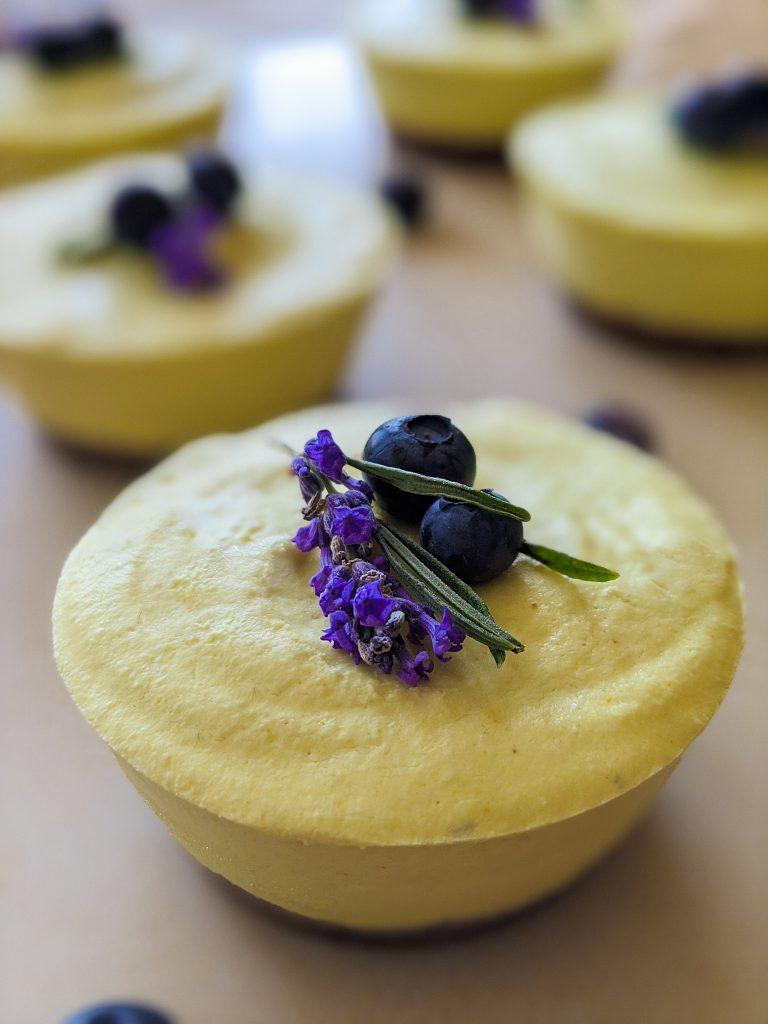 lemon blueberry cakes