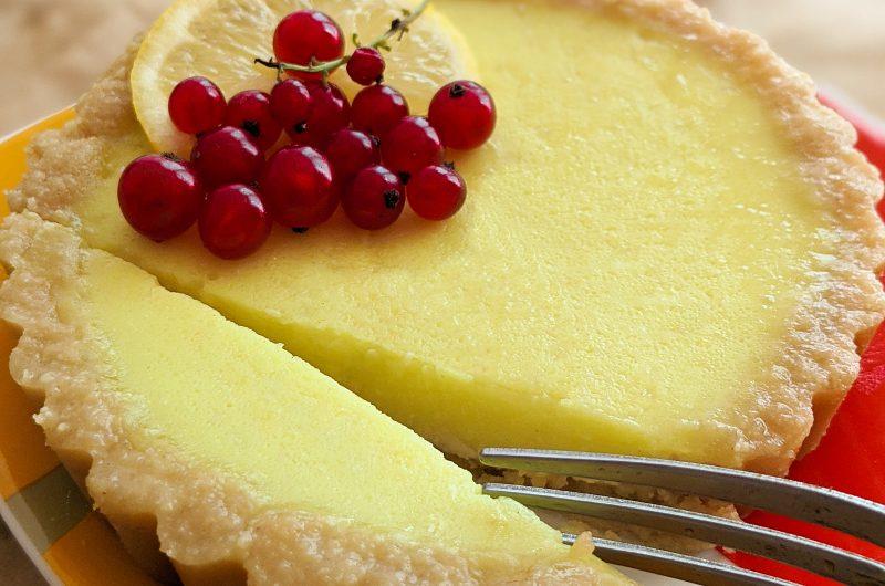 Vegan lemon tarts