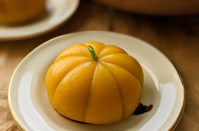 Pumpkin rice cakes
