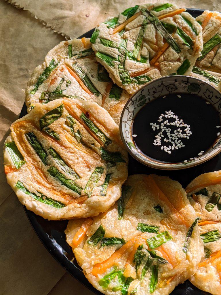 korejske slane palačinke