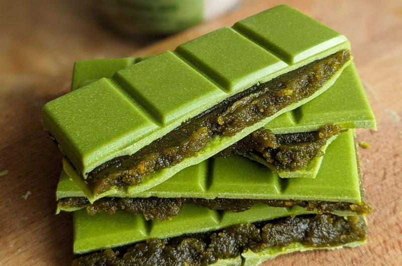 Matcha pistachio chocolate