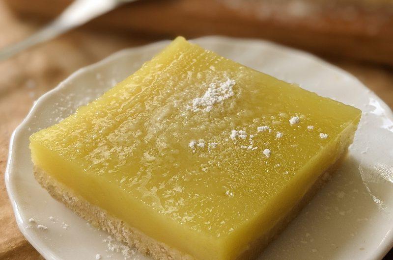 Vegan lemon slices