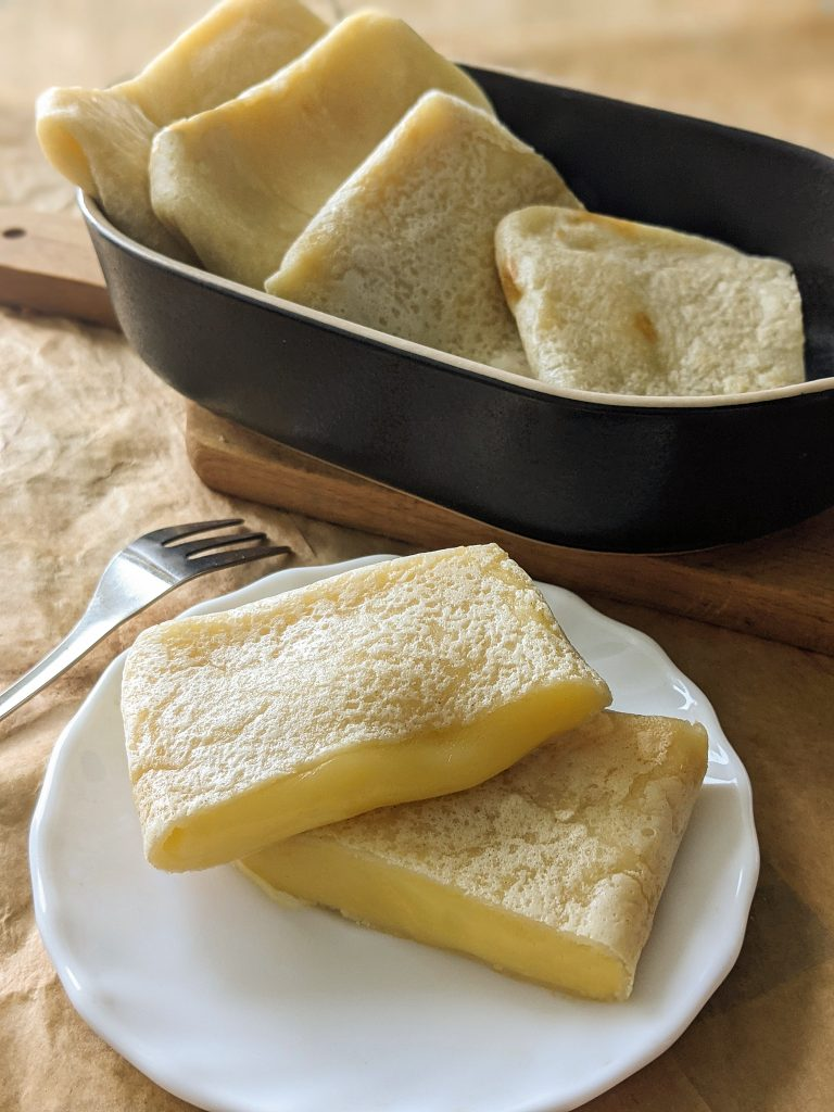vegan cheese crepes