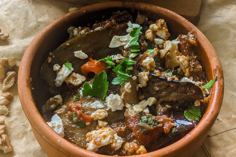 Persian eggplant bake