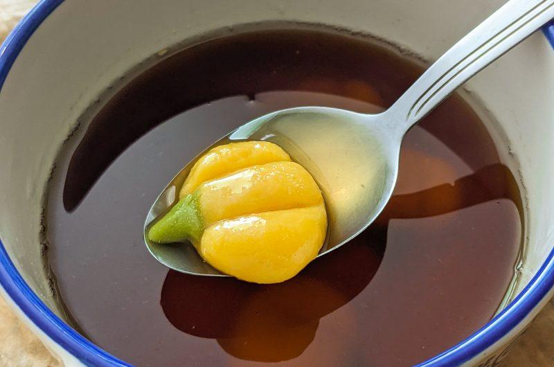 Ginger soup (tang yuan)