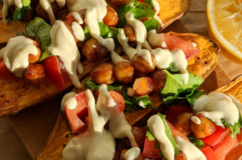 Mediterranean sweet potatoes